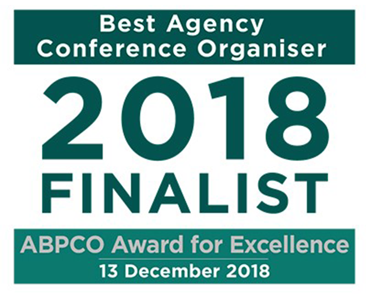 Conference Partners International Shortlisted for ABPCO Award